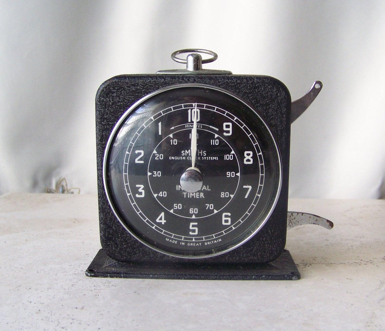 Vintage Kitchen Timer English Clock Systems Teachers Desktop