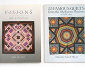2 BOOKS: Visions - Quilts Of A New Decade — Shelburne Museum / 55 Famous Quilts