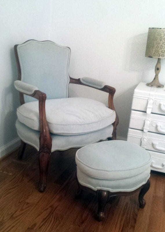 antique chair and ottoman bedroom chair accent chair shabby chic chair