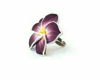 Clay floral ring