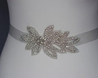 bridal Belt  bridal sash Rhinestone  sash crystal wedding belt bridesmaid belt
