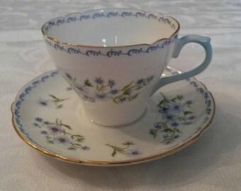 Shelley Tea Cup and Saucer  circa 1940-1966-  DR