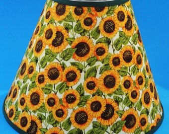 Sunflower Floral Lamp Shade