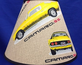 Camaro Lamp Shade Muscle Car