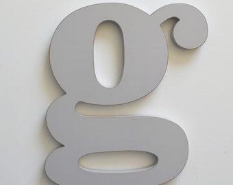 Letter G, 24 Inch Letter,  Large Wooden Letter