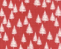 Winterberry Berry Winter Forest Trees by Kate Birdie Paper Co for Moda