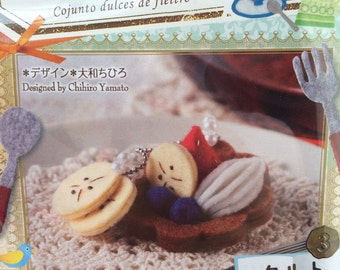 Japan Handmade Wool Felt Tart Kit