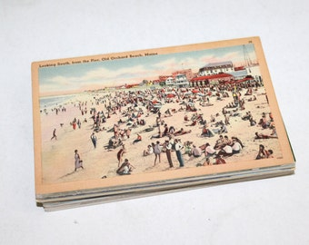 50 Vintage United States Unused Postcards - Travel Themed Wedding Guestbook