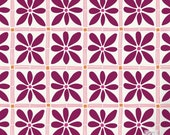 African Flower Craft Stencil for DIY Projects