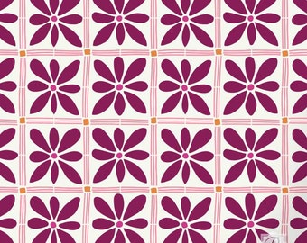 African Flower Craft Stencil for DIY Projects - Small Designs Painted onto Fabric, Furniture, Scrapbooking