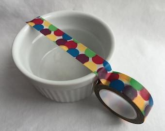 Colorful Dot Washi Tape