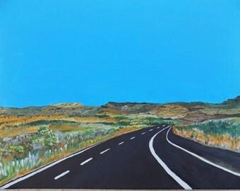 Road into Verde Valley