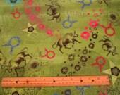 New Dawn Zodiac Sign Taurus premium cotton fabric Fabri-Quilt