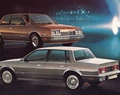 1982 Chevy Celebrity Sedan and Coupe Advertising PC