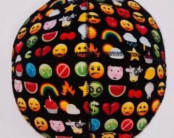 Emoji Saucer Kippah Yarmulke