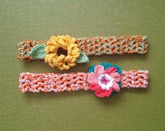 14 inc Handmade Crochet Headband