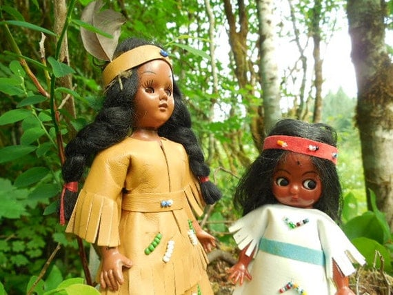 Indian Girl Dolls: Set of 2