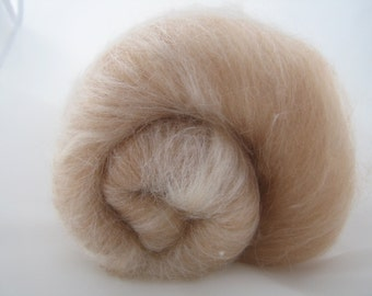 Baby Camel Merino Silk Batts 100g