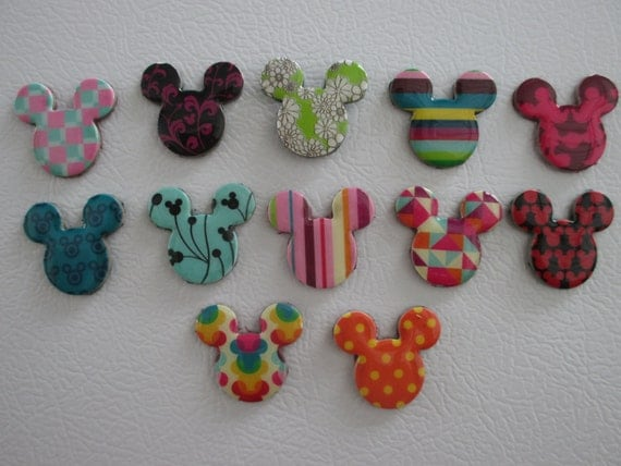 Handmade Mickey Mouse Magnets