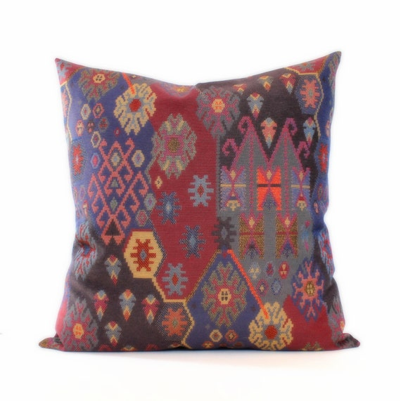 Modern Southwest Pillow : Southwest Decorative Throw Pillow Cover Floor by couchdwellers