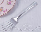 Antique Universal Farmington Silver Serving Fork