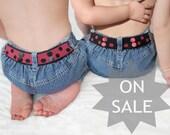 Toddler Belt Reversible - Red & Black