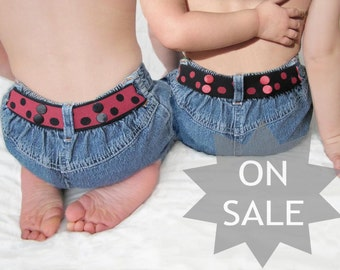 Toddler Belt Reversible - Red & Black