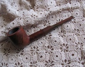 Vintage Briarwood Smoking Tobacco Pipe - Golden Grain