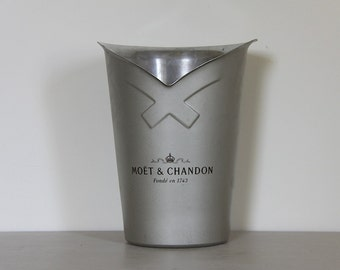 Vintage French Champagne Bucket Parisien Style Moet & Chandon