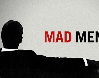 MAD MEN | 24 x 36 inch poster | don draper | TV series | 1960s