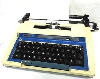 Smith Corona Enterprise ll Electric Typewriter Super Sterling