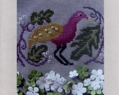 By the Bay Needleart: Birds of a Funky Feather #1 - Cross Stitch Pattern