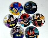 Comic Pocket Mirror Featuring Batgirl
