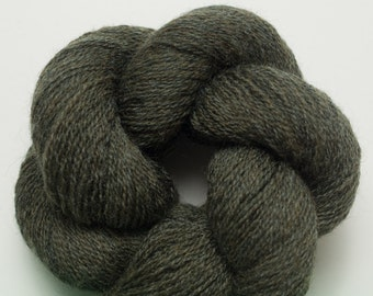 Deep Forest Green Lace Weight Fine Merino Recycled Yarn,  1396 Yards Available in Multiple Skeins