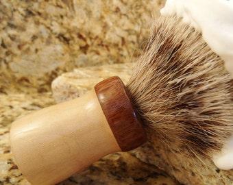 Badger Shaving Brush Choose your knot FREE ENGRAVING