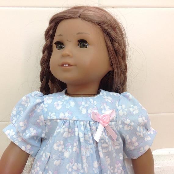 Cute Power Blue Dress American Made 18 Inch Doll Clothess