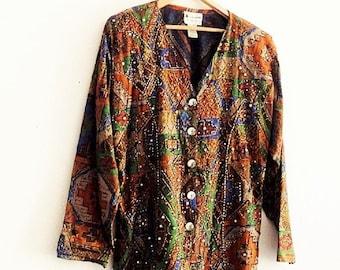 Bohemian Beaded Jacket