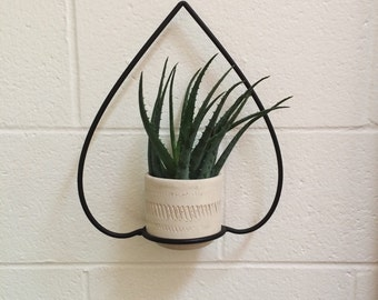 vintage terracotta hanging planter