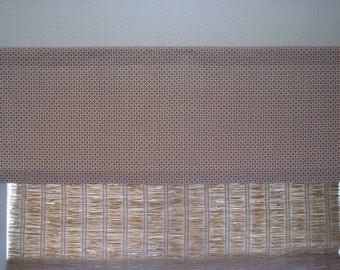 Modern Waverly Valance Kitchen Curtain Custom Valance 52x18