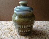 Irish Porcelain Honey or Mustard Pot