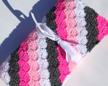 Popular Items For Bright Pink Gray On Etsy