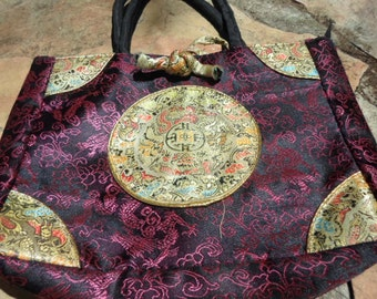 Embroidered Oriental Bag