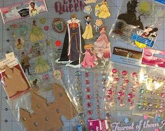 Lot of 8 Disney Embellishments