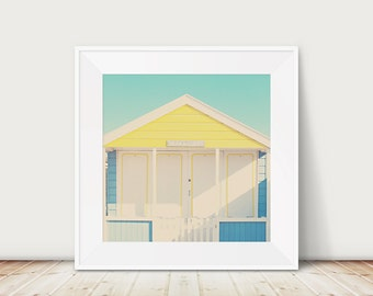 beach hut photograph drama queen print beach photograph summer photograph beach hut print beach house decor nursery wall art