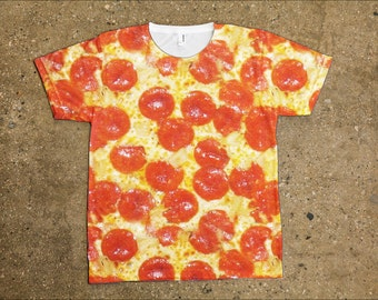 All Over Pepperoni Pizza Shirt