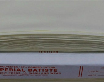 MOONBEAM YELLOW 421 Imperial Batiste Heirloom fabric from Spechler Vogel SVHT01