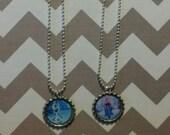 Disney Frozen Bottle Cap Necklace