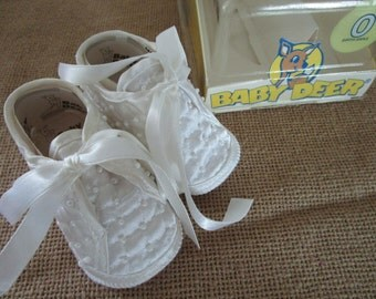 Baby Shoes, Crib Shoes, Vintage Baby Shoes,