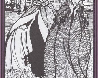 FW207 - Folkwear #207, Kinsale Cloak Sewing Pattern