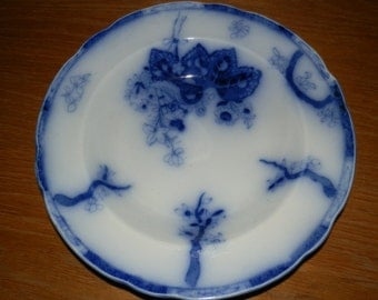 Copeland Flow Blue Serving Bowl
